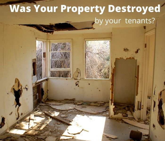Dallas Property Investors - Destroyed property by tenants